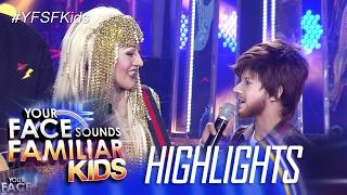 Your Face Sounds Familiar Kids: AC, sinamahan sa pagkanta si Justin
