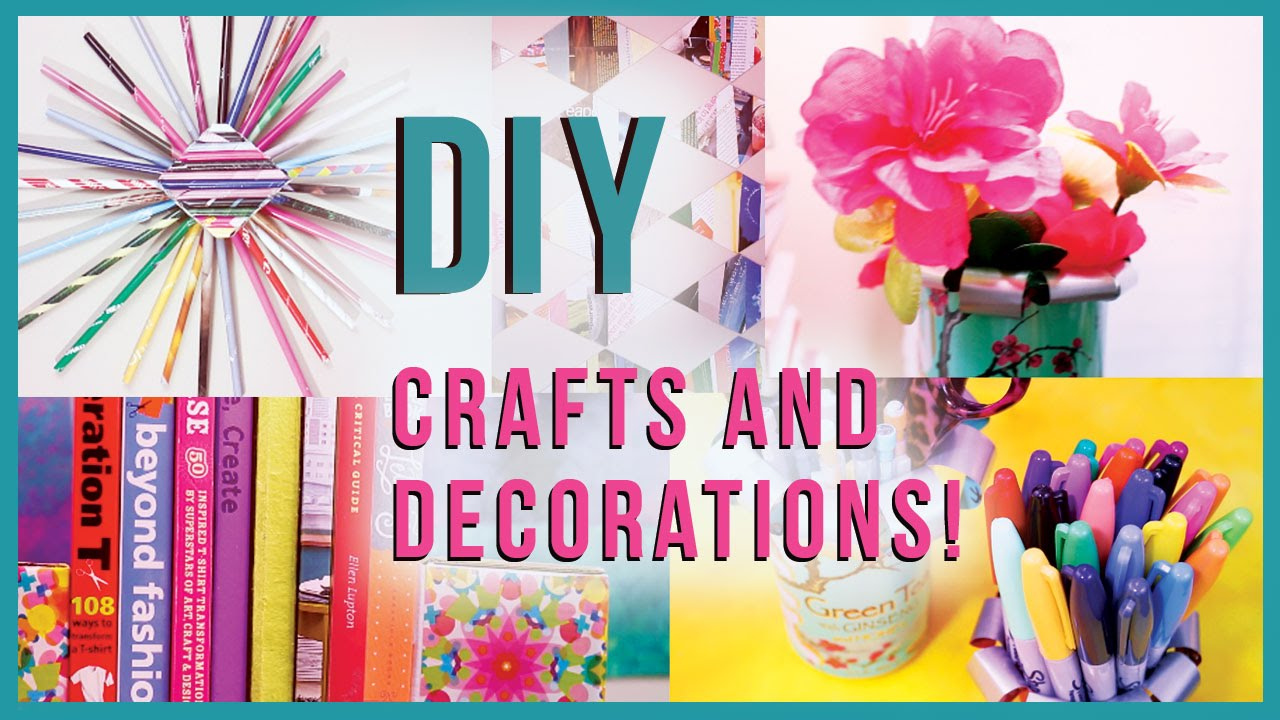 Diy crafts room decorations recycled edition many diy project its youtube uninterrupted solutioingenieria Images