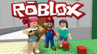 ROBLOX - MARIO OBBY - SAVING PRINCESS AMY - GAMEPLAY