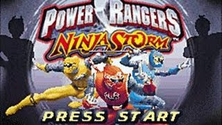 Power Rangers Ninja Storm Walkthrough Complete Game (GBA)