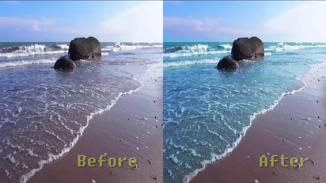 How To Change Color On Water In Photoshop For Beginners! (EASY) - Photoshop  CC