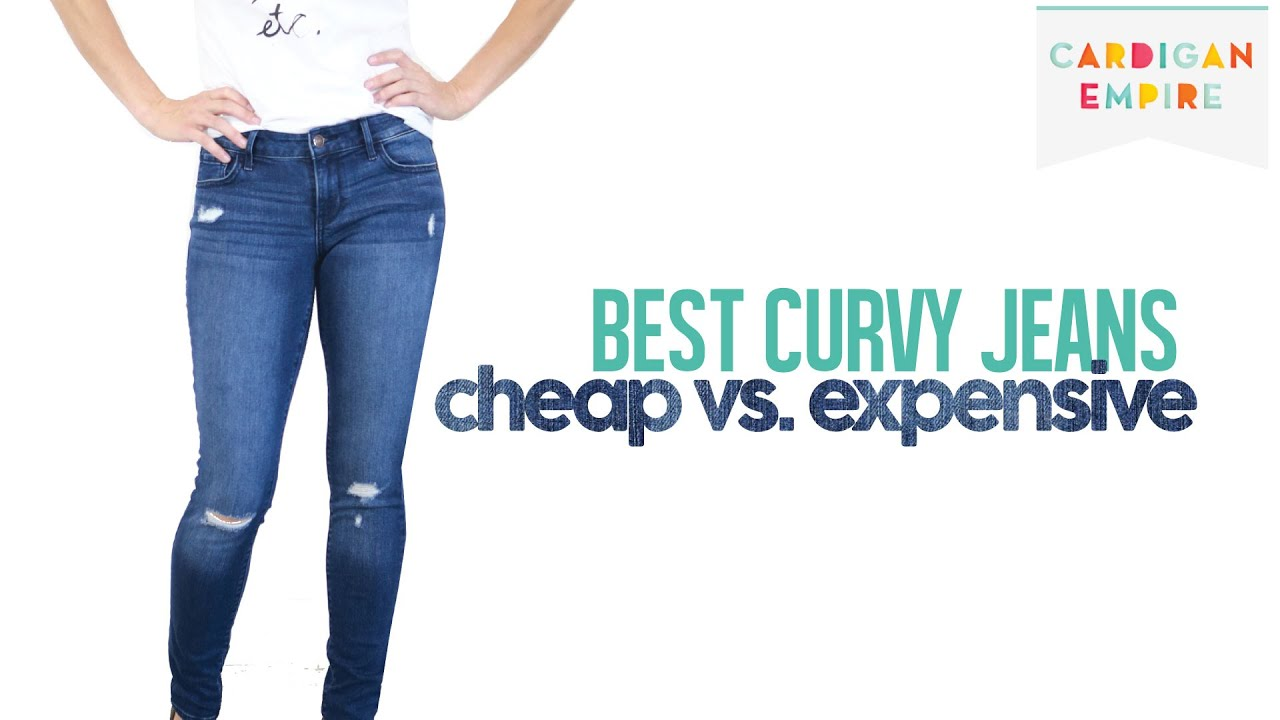 Best Four Jeans for Curvy Women: Cheap vs. Expensive - YouTube