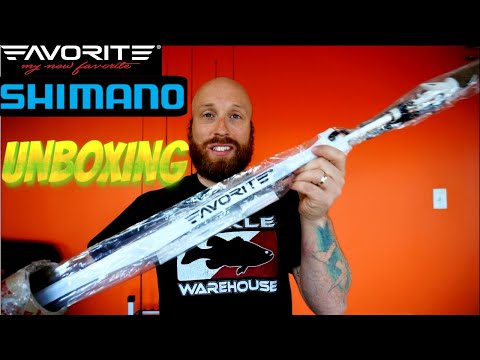 Tackle Warehouse Unboxing - Shimano & Favorite Fishing Rods/Reels!