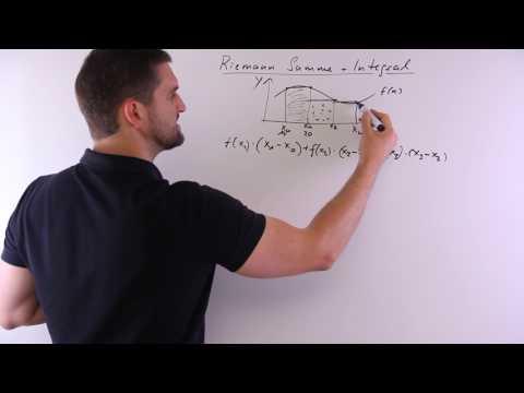 Riemann Summe und Integral, Riemansches Integral | Mathe by Daniel Jung