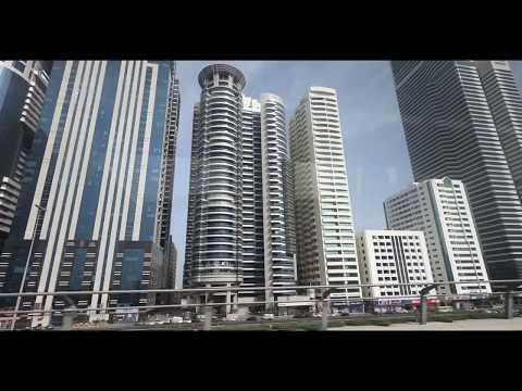 Journey towards World Trade Center Dubai from Metro