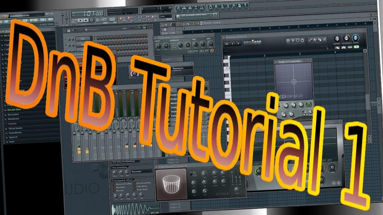 1 - How To Make Drum And Bass / Wie Mache Ich DnB Music Selber (Fl ...