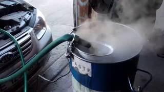 Помиваем радиатор печки.KIA-Cerato 2007