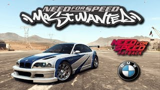 BMW M3 de Need For Speed Most Wanted en Payback