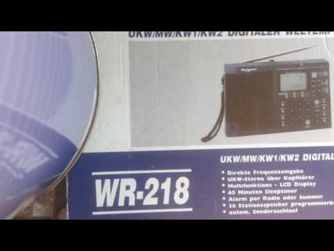 Old Magnum WR-218/Dak DMR3000 Radio Review, Explaintion, whats in the box?