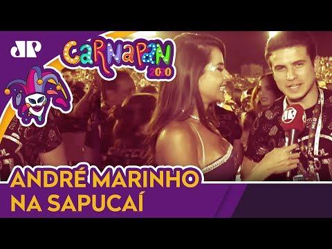 Manoela Caiado E Marinho Agitam O CarnaPan Da Sapucaí