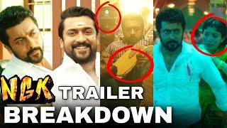 NGK - Official Trailer Breakdown | இதை கவனிச்சீங்களா ? Suriya, Sai Pallavi | Selvaraghavan | Yuvan