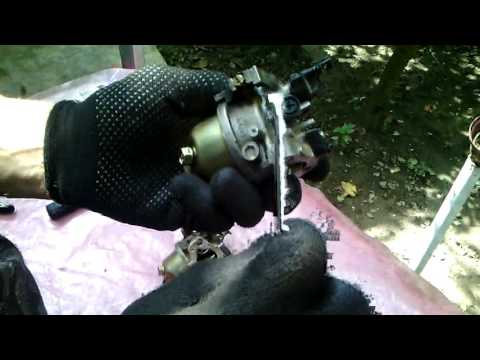 Ремонт карбюратора бензогенератора своими руками видео