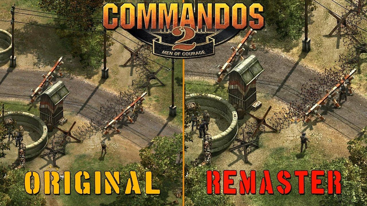 Commandos 2 HD Remaster vs Original - Quick Comparison - YouTube