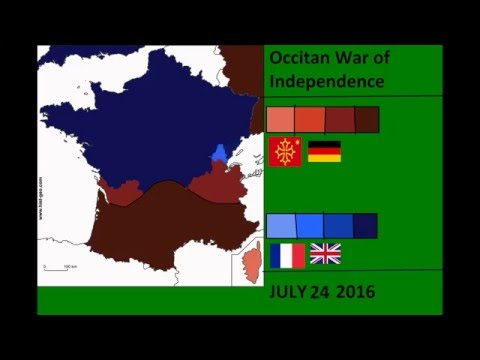 War Simulations | Occitan War of Independence | Every Day