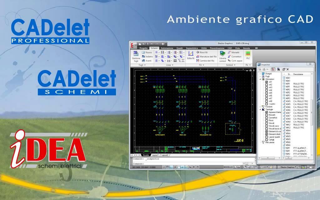 Schemi Elettrici Per Impianti Industriali : Video demo software per progettazione elettrica