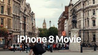 iPhone 8 Plus Camera Sample Footage Movie - London