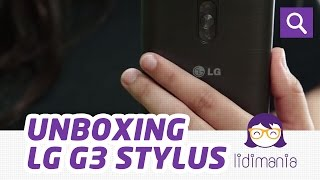 LG G3 Stylus [Unboxing] – Lidimania