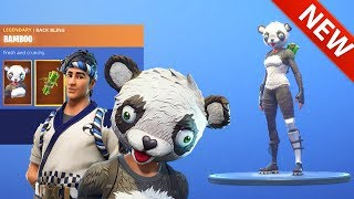 *NEW* PANDA TEAM LEADER SKIN & SUSHI MASTER SKIN! FORTNITE BATTLE ROYALE