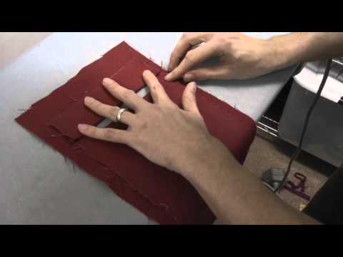 How to sew a welt pocket