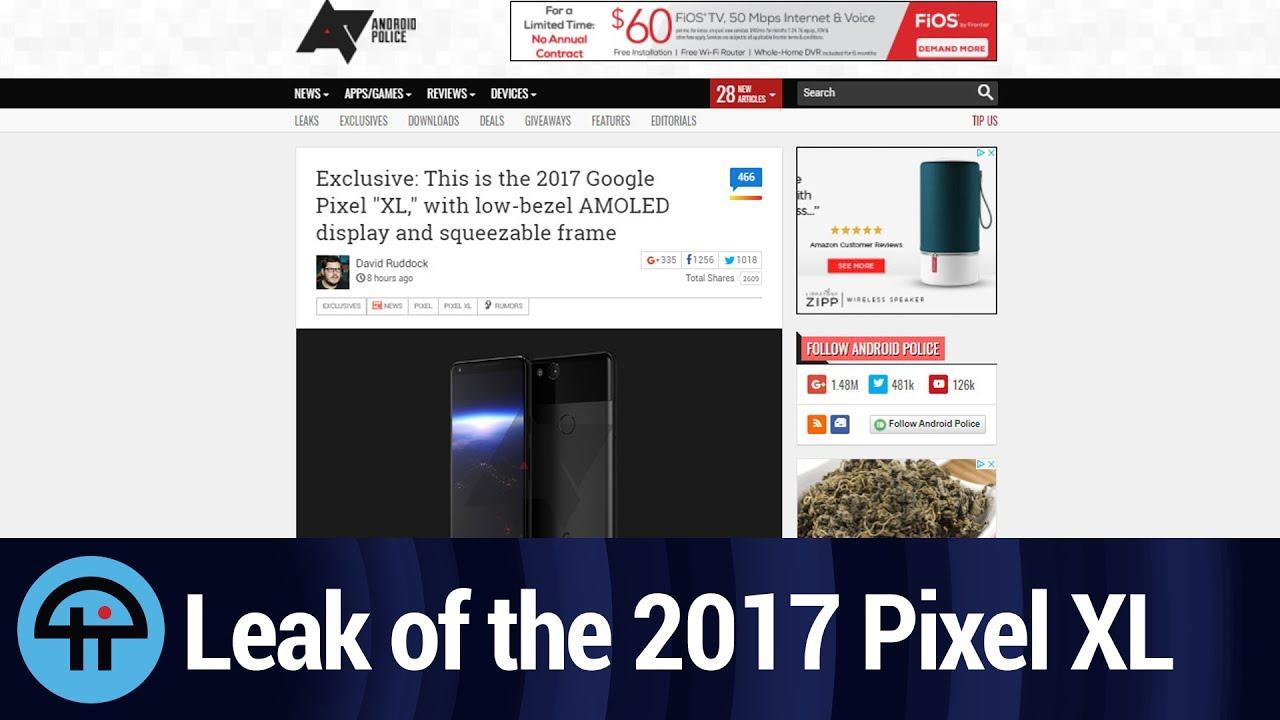 2017 Google Pixel XL Leak