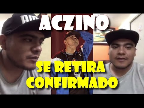 ACZINO CONFIRMADO SE RETIRA DE LAS COMPETICIONES !