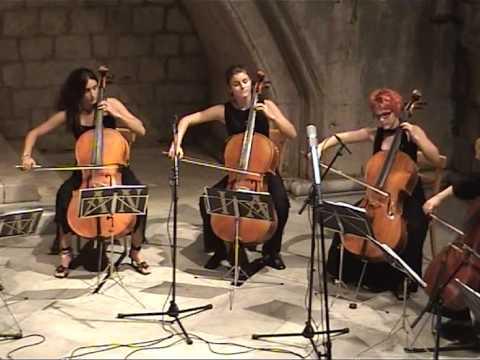 H. Villa-Lobos: Bachianas Brasileiras No. 1 (I. Introduction), cello ensemble