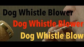 Dog Whistle - How to change the frequency