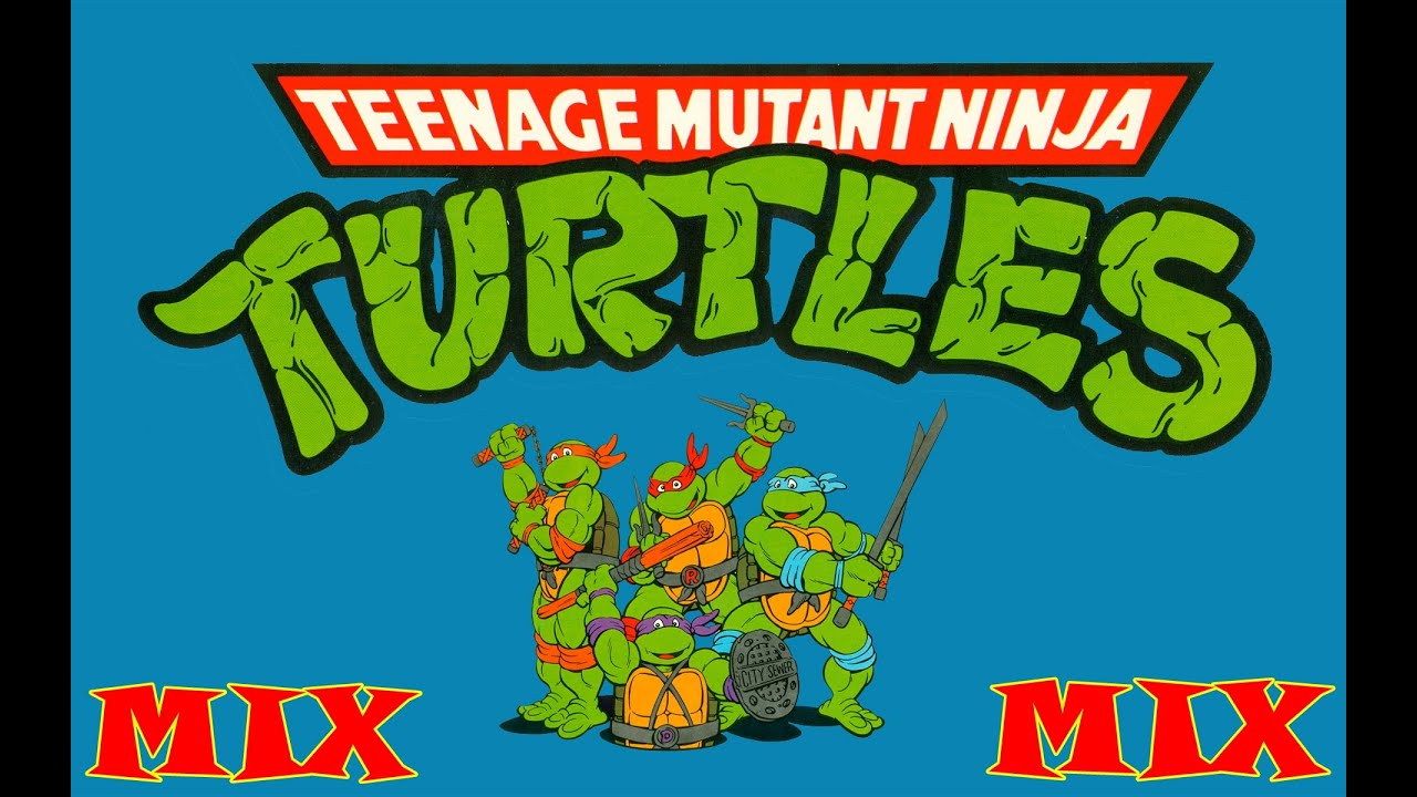 Teenage Mutan Ninja Turtles Intro 1987