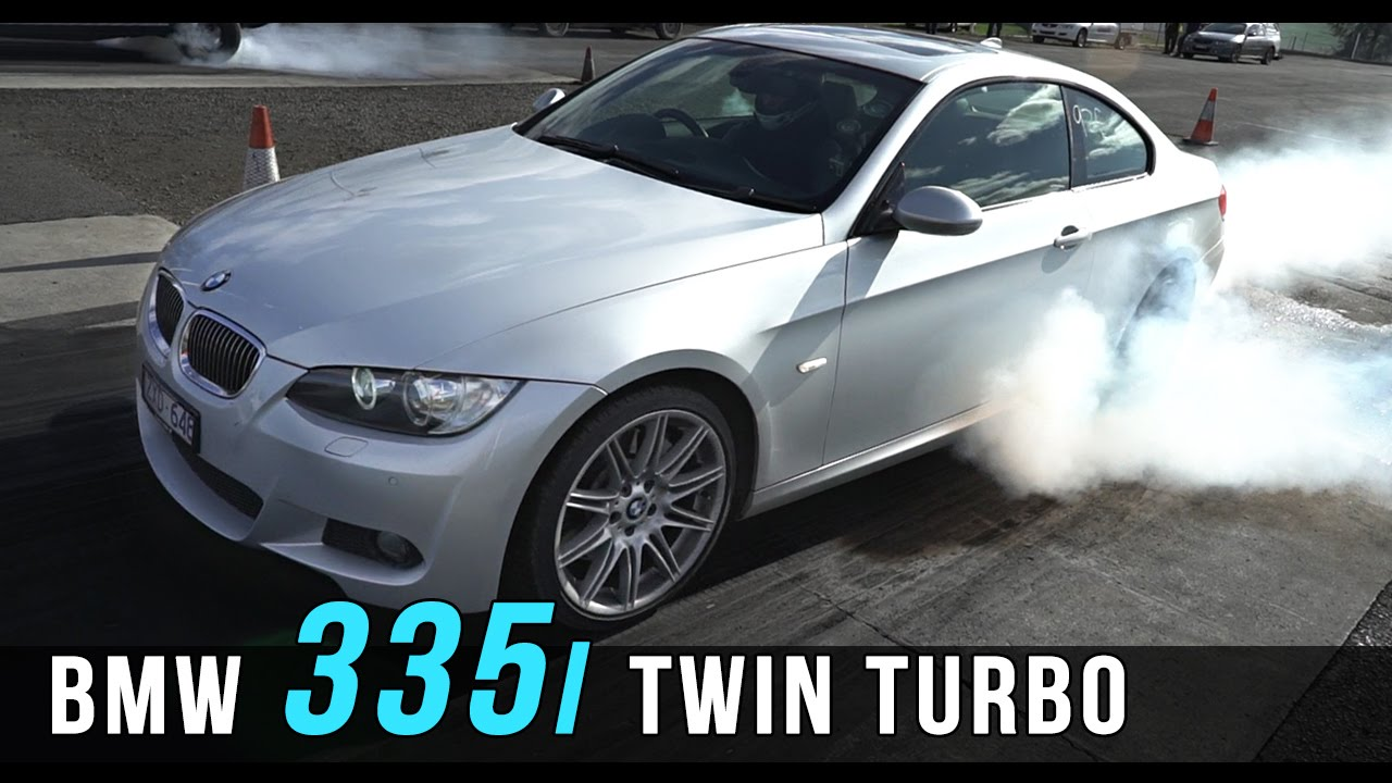 BMW 335i twin turbo upgrade  YouTube