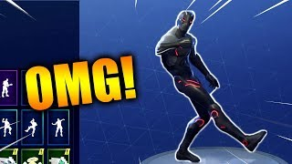 "FORTNITE NEW ""OMEGA"" SKIN Showcased With 17 Dances/Emotes! Forntite Season 4 Battle Pass Last Skin!"