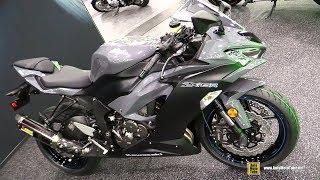 2019 Kawasaki Ninja ZX6R 636 Performance Package - Walkaround - Debut at 2018 AIMExpo Las Vegas