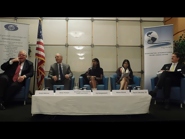 4/18/18 Trade Counsels and the Role of Congress in Formulating U.S. Trade Policy Part 4