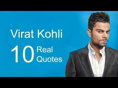 Virat Kohli 60 Real Life Quotes On Success Inspiring Custom Real Life Quote