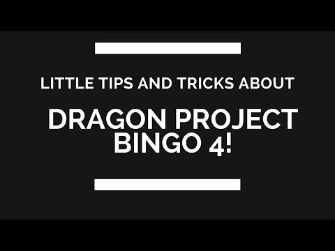[Dragon Project] Little tips and tricks for Bingo 4! Better Quality of life!