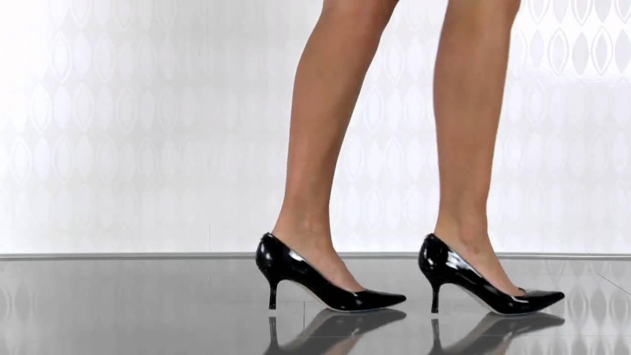 Ivanka Trump Indico in Black Patent