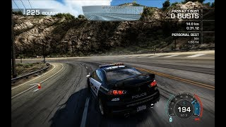 "NEED FOR SPEED — HOT PURSUIT [Mission ""BEACH""] — Mitsubishi Lancer EVOLUTION X — Gameplay"