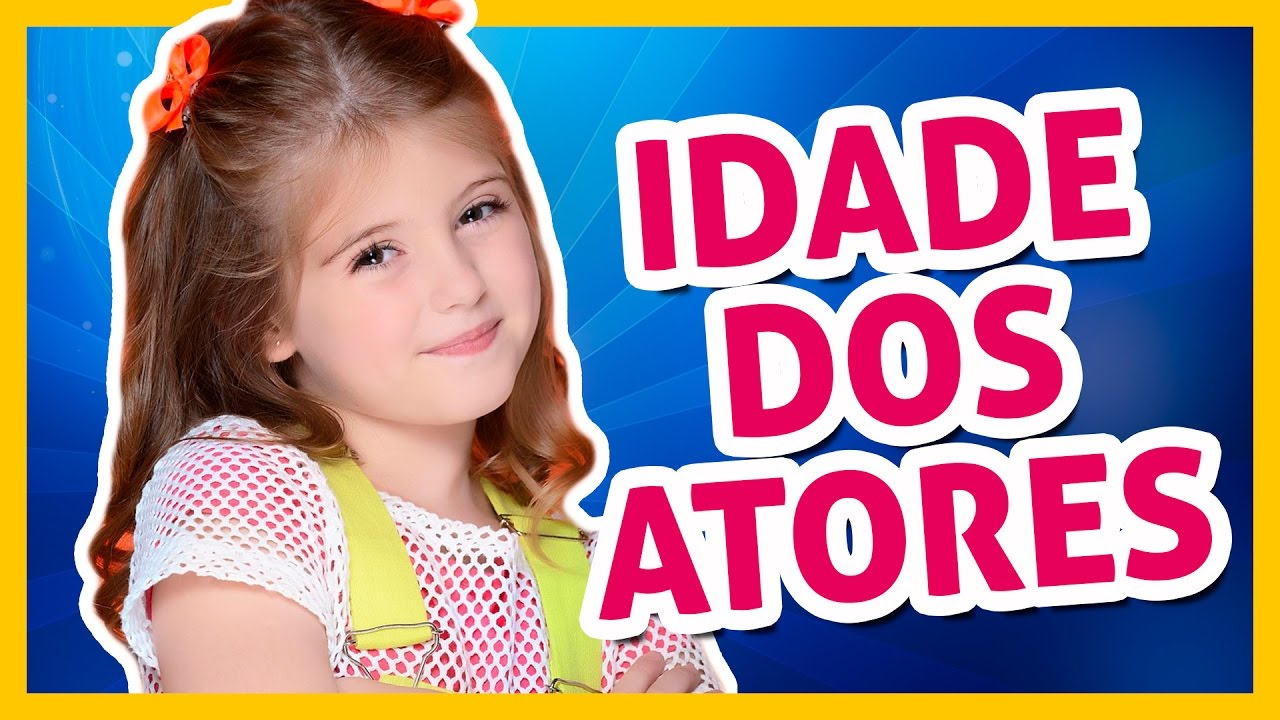 Idade Dos Atores De Carinha De Anjo I Dayane Souza Youtube
