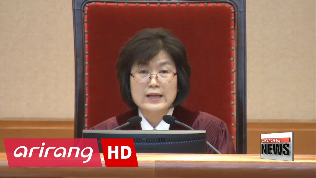 Justice Lee Jung mi leads impeachment trial as interim chief