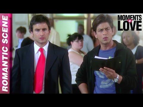 Aman Expresses His Love - Kal Ho Naa Ho - Shahrukh Khan - Moments Of Love