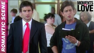 Aman expresses his love - kal ho naa ho - shahrukh khan - moments of love