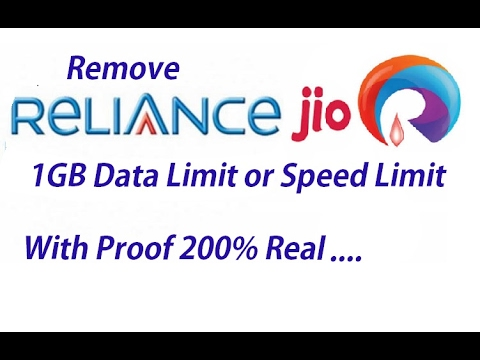 How to increase Jio 4G speed after 1GB usage