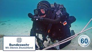 60 Sekunden Bundeswehr:  Mischgastauchgerät