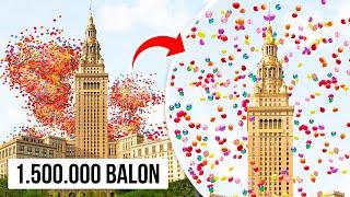 Mereka Menerbangkan 1, 5 Juta Balon, Tak Menyangka Akan Berakhir Kacau