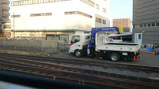 【JR四国】特急しまんと3号 高松駅発車〜高松運転所通過まで