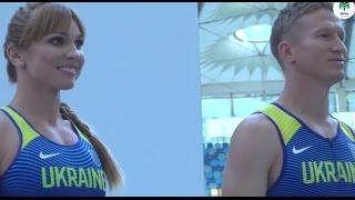 Открытая тренировка Олимпийской сборной Украины по легкой атлетике