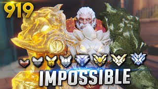Would YOU GUESS HIS RANK!? *IMPOSSIBLE*| Overwatch Daily Moments Ep. 919 (Funny and Random Moments)