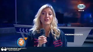CANDELA LA HIJA DE RUGGERI APARECE EN ACCION   90 MINUTOS DE FUTBOL   15 DE SEPTIEMBRE 2017
