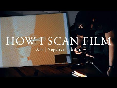 How I Scan Film | A7r & Negative Lab Pro