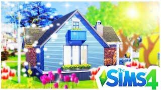 BUILDING A CHEAP, SEASONS STARTER! The Sims 4