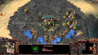 Let´s Play: Starcraft 2 Heart of the Swarm (German): Ladder (3vs3) # 5 : Immernoch gut dabei!